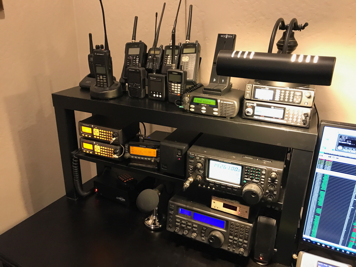 The Radioreferencecom Forums View Single Post N9jig Motorola Cdm1250 Wiring Diagram Finally Here Is Shelf With Rest Of Radios On Bottom Row Power Supply For Scanners And Kenwood
